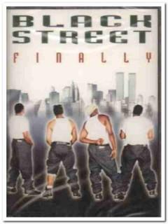 blackstreet - finally 12 tracks 1999 sealed audio cassette tape