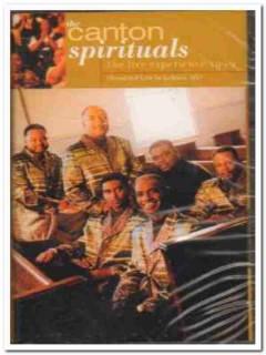 canton spirituals - live experience 1999 gospel sealed cassette tape