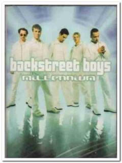 backstreet boys - millennium 1999 12 tracks sealed audio cassette tape