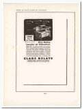 c p clare company 1943 electrical relays ww2 wartime vintage ad