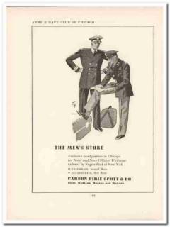 carson pirie scott company 1943 mens store ww2 wartime vintage ad