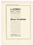 ladish drop forge company 1943 automotive ww2 wartime vintage ad