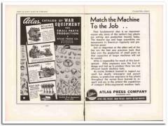 atlas press company 1943 catalog war equipment ww2 wartime vintage ad