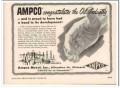 Ampco Metal Inc 1951 Vintage Ad Oil Corrosion-Resistant Pumps Valves
