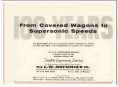 C W Nofsinger Company 1959 Vintage Ad Oil Complete Engineering Service