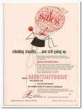 lakeside laboratories inc 1952 mercuhydrin sales medical vintage ad