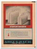 Abel Bach Inc 1946 Vintage Ad Leather Luggage Designed Tomorrow Travel