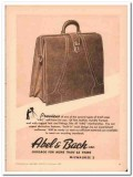 Abel Bach Inc 1946 Vintage Ad Leather Luggage Brief Case ABC Preview