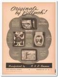 A L Seamon Company 1946 Vintage Ad Leather Wallet Billpak Northern
