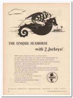 Atlantic Products Corp 1946 Vintage Ad Luggage Val-A-Pak Par-Pak