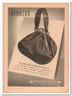 atlas powder company 1946 magic word kerazon handbag vintage ad