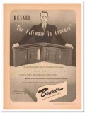 Benner Leather Goods Company 1946 Vintage Ad Wallet Ultimate Quality