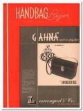 lowengart company 1946 gahna shoulde rex pigskin handbag vintage ad