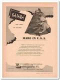 Lowengart Company 1946 Vintage Ad Leather Gahna Morocco Made USA Jewel
