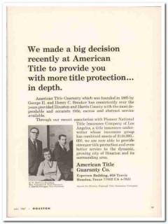 american title guaranty company 1967 mccrory schoggin paul vintage ad