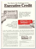 bank of the southwest 1967 executive credit loan service vintage ad