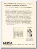 a b dick company 1968 salute houston printing duplicator vintage ad