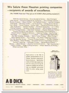 a b dick company 1968 salute houston printing duplicator vintage ad