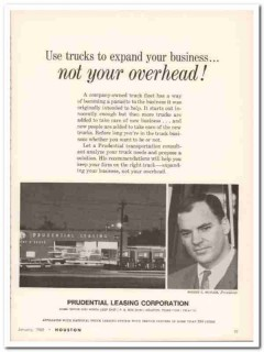 prudential leasing corp 1968 mcnair trucks expand business vintage ad