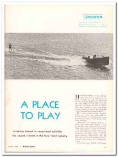 place to play 1968 houston texas resorts marina travel vintage article