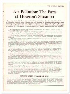 air pollution 1968 houston texas situation facts vintage article
