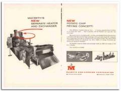 macbeth engineering corp 1967 heater exchanger snack food vintage ad