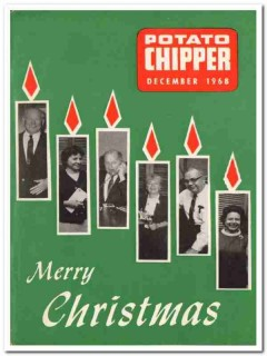 potato chipper 1968 december christmas vintage print magazine cover