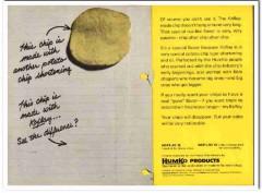 humko products inc 1968 koflay potato chip shortening food vintage ad