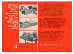 hupp inc 1968 ferry division processed machine snack food vintage ad