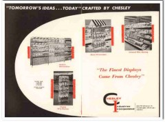 chesley industries inc 1968 ideas merchandising snack food vintage ad