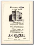 b w keeland company 1953 houston tx carrier air conditioner vintage ad