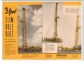 Cardwell Mfg Company 1954 Vintage Ad Oil Drilling Slim Hole Rigs