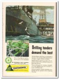 Continental Supply Company 1954 Vintage Ad Oil Drilling Tenders Demand