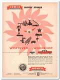 Houston Oil Field Material Company 1957 Vintage Ad Homco Supply Stores