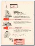 Lane-Wells Company 1957 Vintage Ad Oil Field Deeper Penetration Bullet
