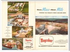 Magnet Cove Barium Corp 1957 Vintage Ad Oil Magcobar Mines Mills Muds