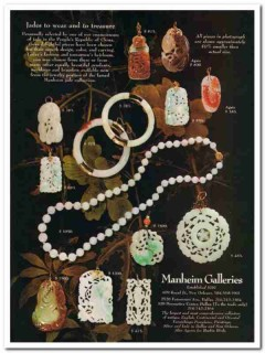 manheim galleries 1976 new orleans jade wear treasure china vintage ad