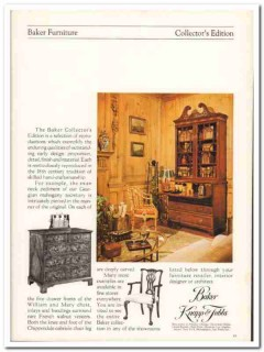 baker knapp tubbs 1976 collector edition reproduction vintage ad