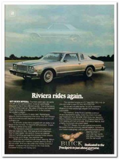 buick 1977 riviera rides again fourteen luxury automobile vintage ad