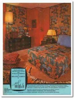 albert van luit company 1977 ching wallcoverings fabrics vintage ad