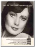 alexandra de markoff inc 1977 countess isserlyn expensive vintage ad