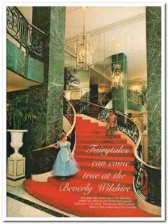 beverly wilshire hotel 1977 fairytales come true ballroom vintage ad