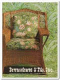 brunschwig fils inc 1977 panama victorian garden fabric vintage ad