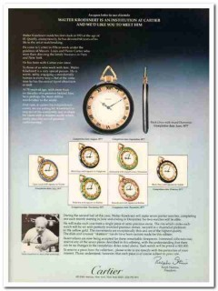 cartier 1977 ralph destino walter kroehnert watchmaker vintage ad