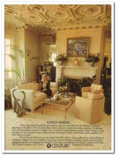 century furniture company 1977 kaylea bakker san francisco vintage ad