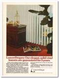 louverdrape inc 1977 elegant solid vinyl vertical blinds vintage ad