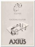 axius design inc 1977 two gutterman functional sculpture vintage ads