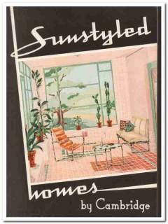 Cambridge Tile Mfg Company 1940 Vintage Catalog Suntile Wall Floor