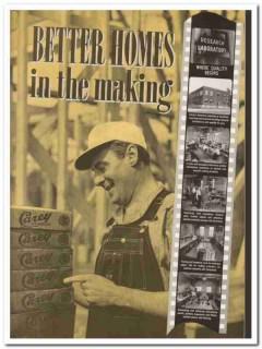 Philip Carey Company 1940 Vintage Catalog Asbestos Siding Shingles