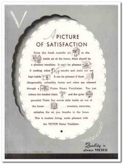Victor Electric Products Inc 1941 Vintage Catalog Ventilation In-Bilt